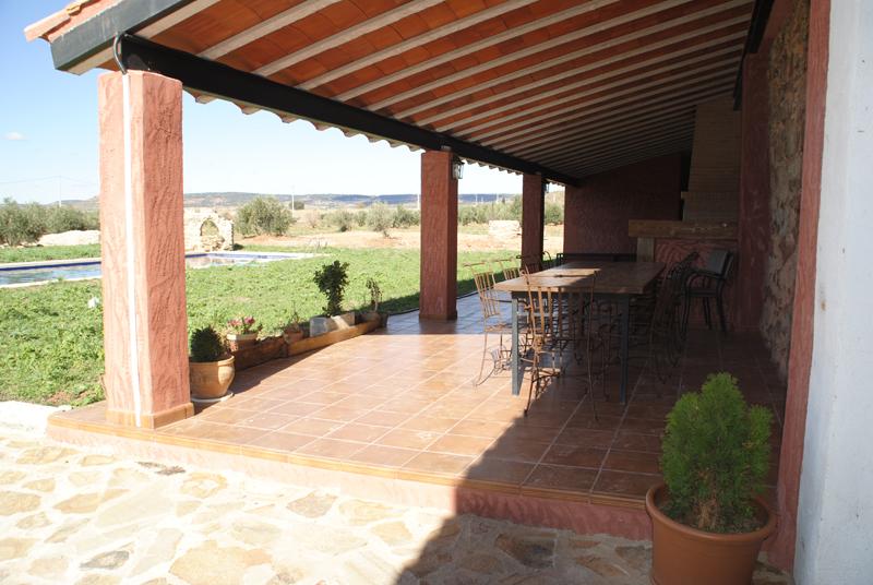 Casas rurales finca spa vereda real sierra de alcaraz for Techos de galerias exteriores